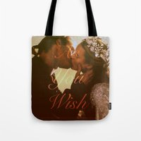 "princess bride Tote Bags featuring As You Wish (""The Princess Bride"" 1987) by Woah Jonny"