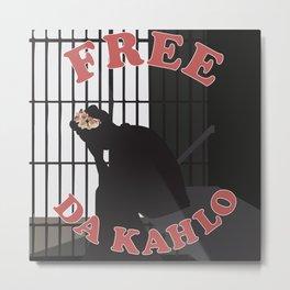 Free Da Kahlo Metal Print