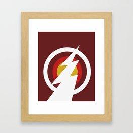 Speedster (Colored) Framed Art Print