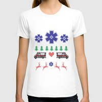 nordic T-shirts featuring Nordic Paramedic by Gregovsky D.
