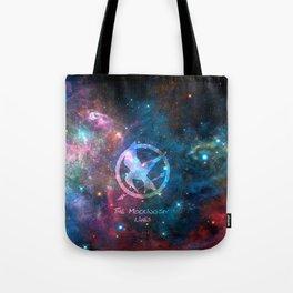 mockingjay galaxy Tote Bag