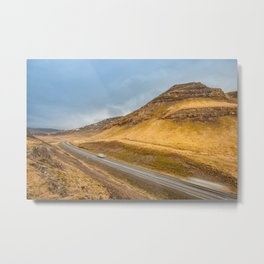 Iceland | Middle of nowhere Metal Print
