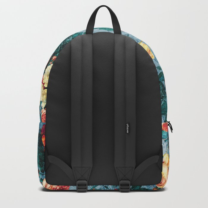 Floral and Marble Texture II Backpack