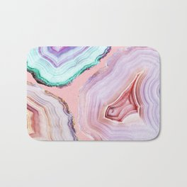 Mineral Agates #Glam collection Bath Mat