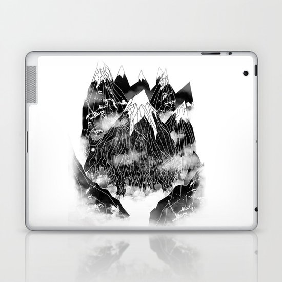 Valley of the Mountain Goat Laptop & iPad Skin