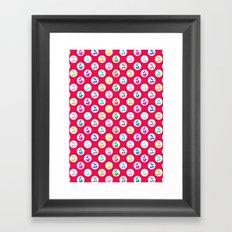 I love cherries Framed Art Print