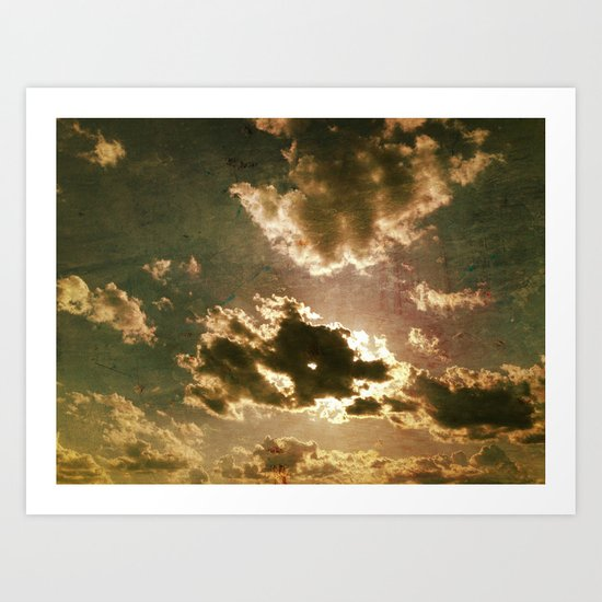 Clouds #1 Art Print