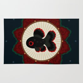 Butterfly goldfish Rug