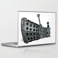 dalek Laptop & iPad Skins featuring Dalek by Rebecca Bear