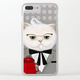 Sanders Clear iPhone Case