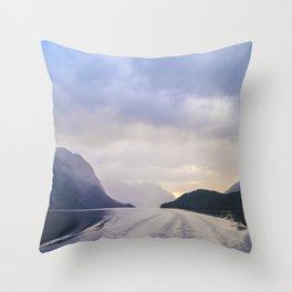 A Cruise Through Doubt Throw Pillow