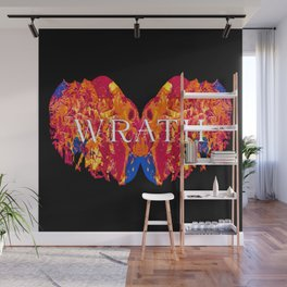 The Seven deadly Sins - WRATH Wall Mural