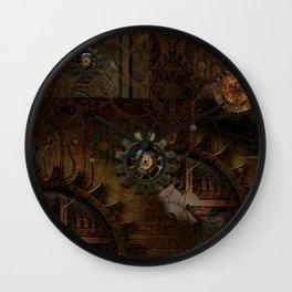 Noble steampunk design Wall Clock