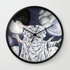 Duality Discovered Wall Clock