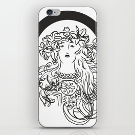 Mucha's Inspiration iPhone Skin