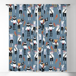 Pirate Cats Blackout Curtain
