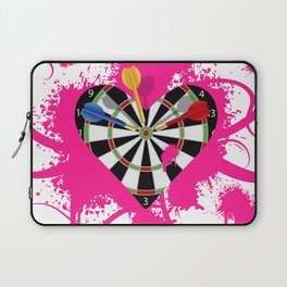 Dartboard Romance Laptop Sleeve