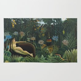 The Dream, Henri Rousseau Rug