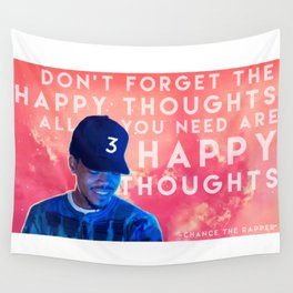 Happy Thoughts Wall Tapestry