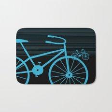 Blue Bike by Friztin Bath Mat