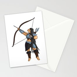 Beautiful archer Stationery Cards