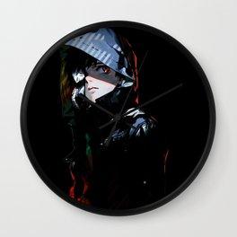 kaneki ken cool pose Wall Clock