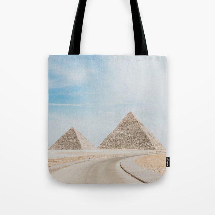 Pyramids of Giza X Tote Bag