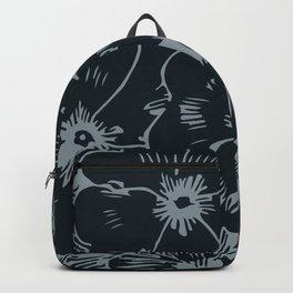 Dark Fall Floral Backpack