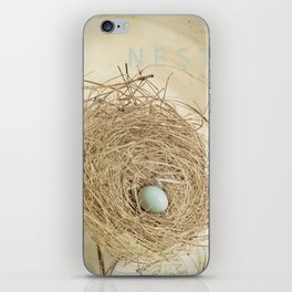 Petit Nest iPhone Skin