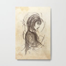 Ashes Metal Print