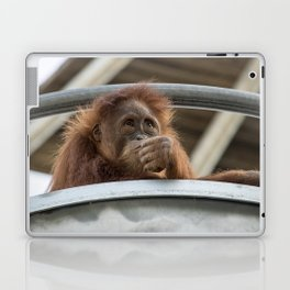 Deep In Thought Laptop & iPad Skin