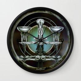 """""""Astrological Mechanism - Libra"""" Wall Clock"""