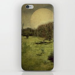 Moon iPhone Skin
