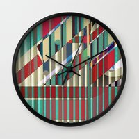 industrial Wall Clocks featuring Industrial Delusions by Fernando Vieira