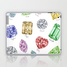 Gems pattern Laptop & iPad Skin