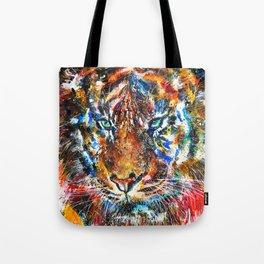 The Sumatran Tiger Tote Bag