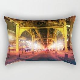 Under The Loop Rectangular Pillow