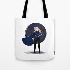 Dark Swan and Evil Queen Tote Bag
