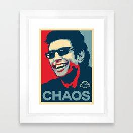 'Chaos' Ian Malcolm (Jurassic Park) Framed Art Print