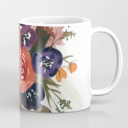 Country Fall Watercolor Bouquet Coffee Mug