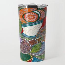 Genie In A Lotus Travel Mug