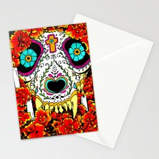 lupe calavera Stationery Cards