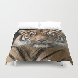 Look into my eyes by Teresa Thompson Duvet Cover