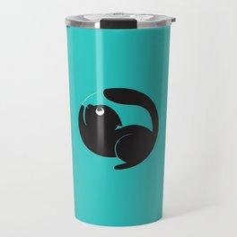 Cute Cat Circle Travel Mug