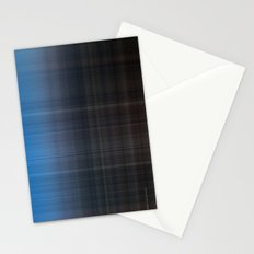 Blue Checked Stationery Cards