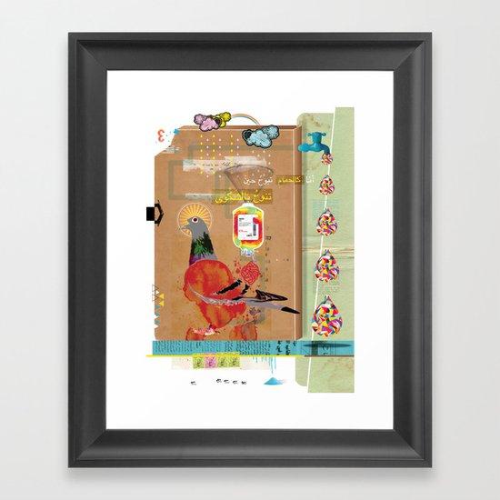 Transfusion Framed Art Print