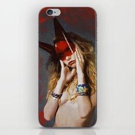 """horned"" iPhone Skin"