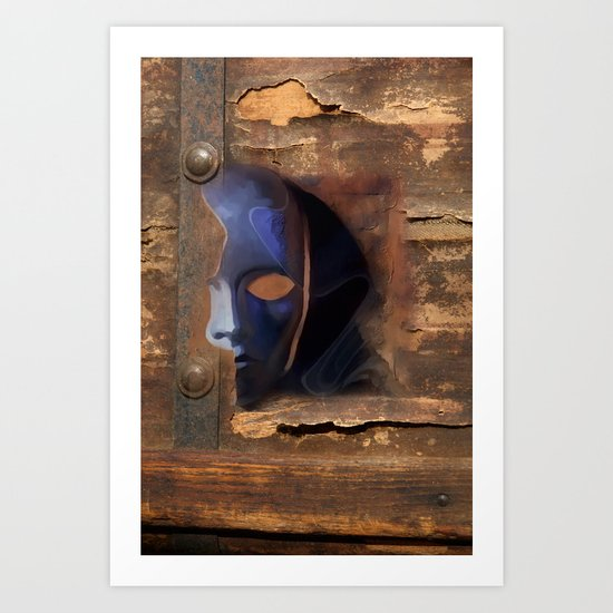 the mask /   Art Print