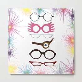 Wizarding Sight Metal Print
