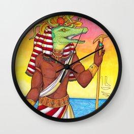 Sobek Wall Clock